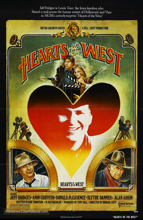 Hearts of the West - Movie Poster