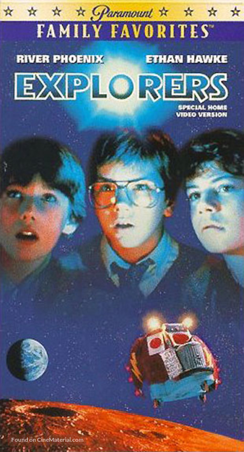 Explorers - VHS movie cover