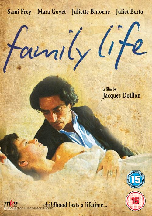 La vie de famille - British Movie Cover