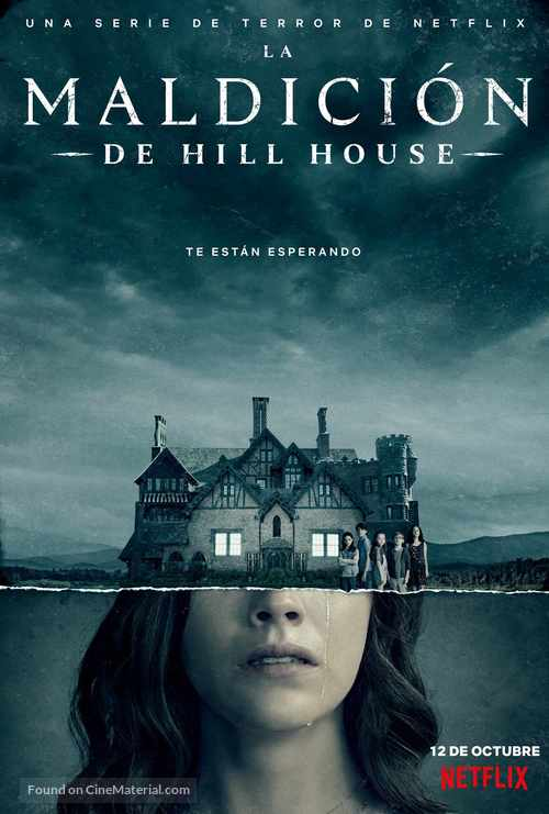 """The Haunting of Hill House"" - Spanish Movie Poster"