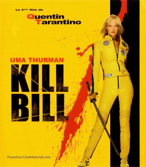 Kill Bill: Vol. 1 - French Blu-Ray movie cover