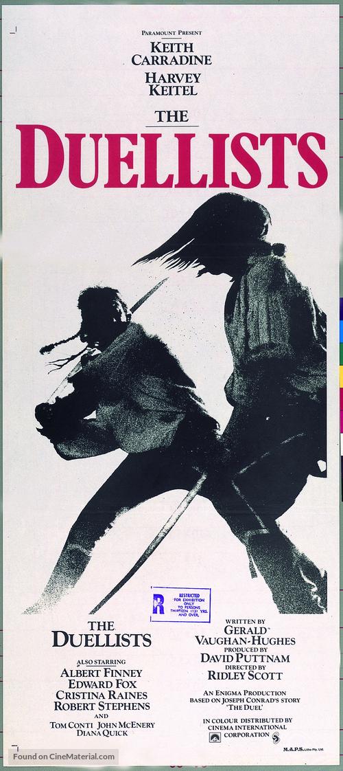 The Duellists - Australian Movie Poster