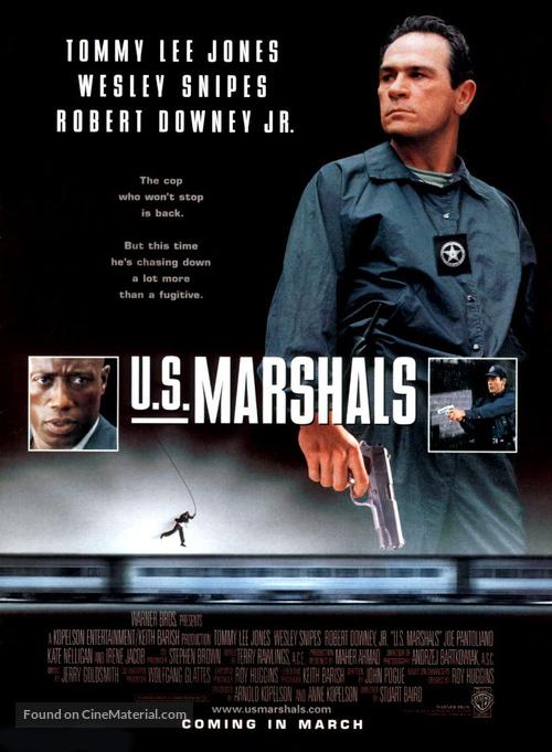 US Marshals - Movie Poster