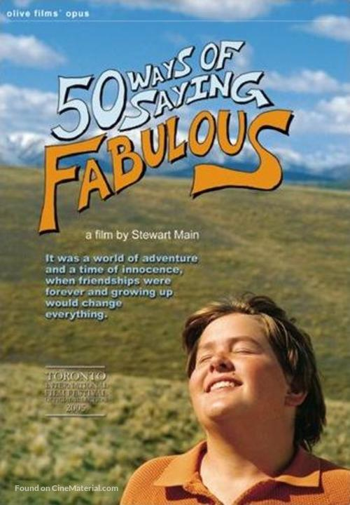 50 Ways of Saying Fabulous - Canadian Movie Poster