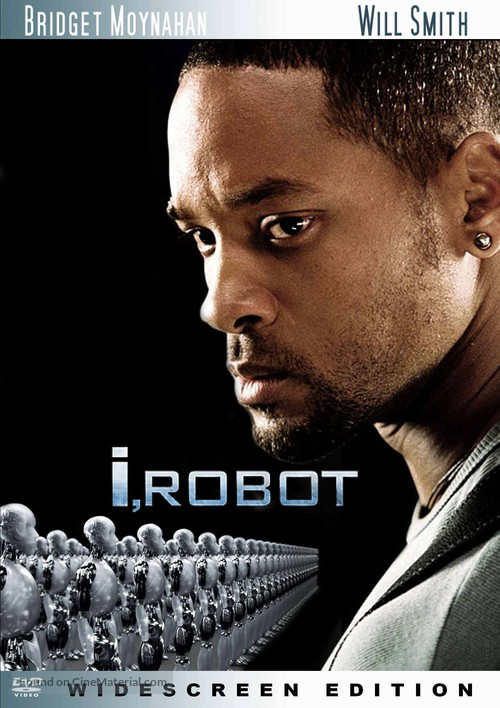 I, Robot - DVD movie cover