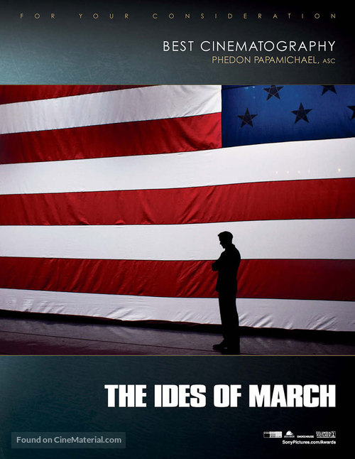 The Ides of March - For your consideration movie poster