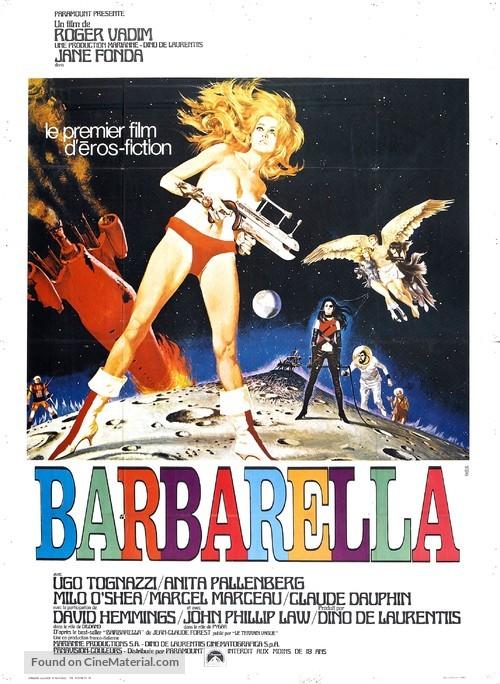 Barbarella - French Movie Poster