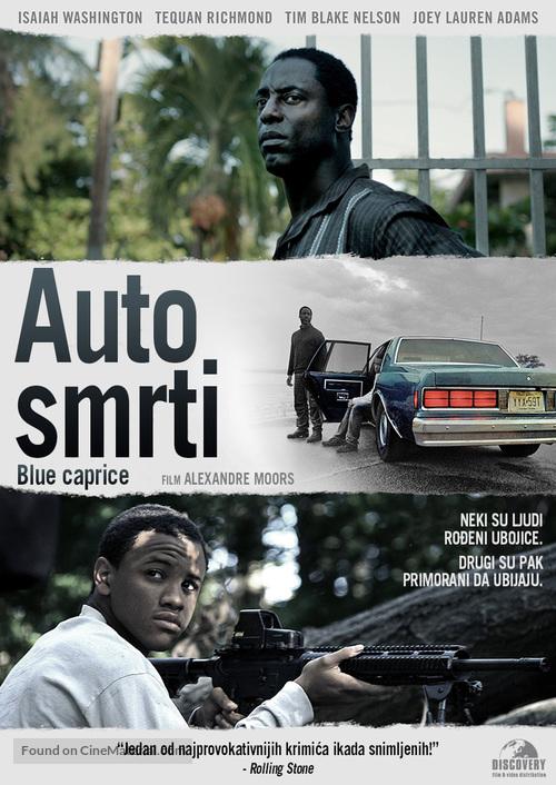 Blue Caprice - Croatian DVD movie cover
