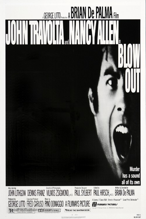 Blow Out - Movie Poster