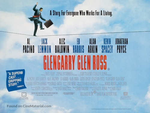 an analysis of the character of truth in death of a salesman by glengarry glen ross