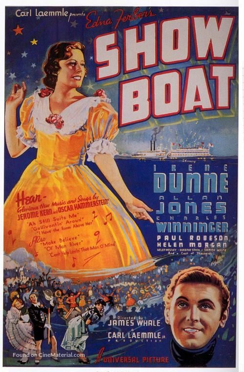 Show Boat - Movie Poster