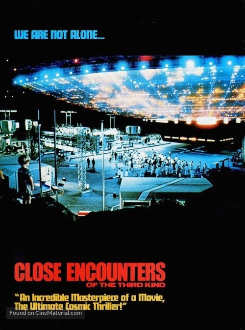 Close Encounters of the Third Kind - Movie Cover