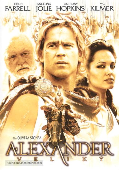 Alexander - Czech DVD movie cover