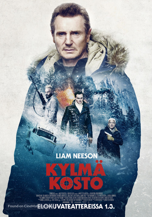 Cold Pursuit - Finnish Movie Poster