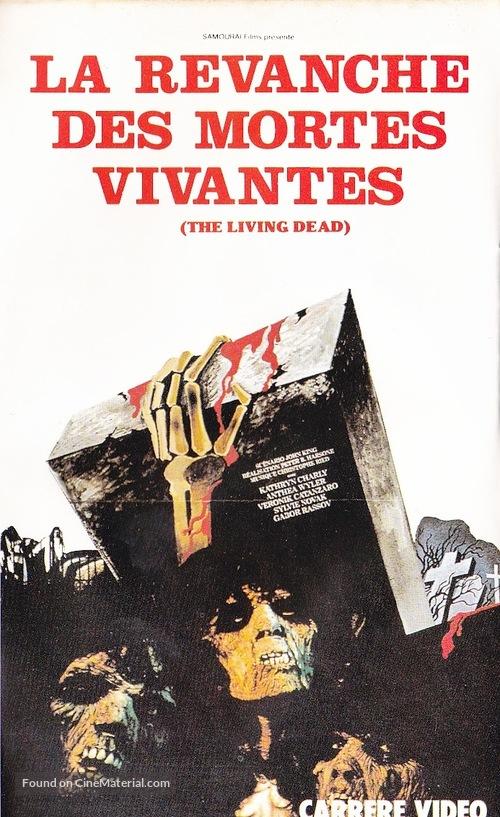 La revanche des mortes vivantes - French VHS cover