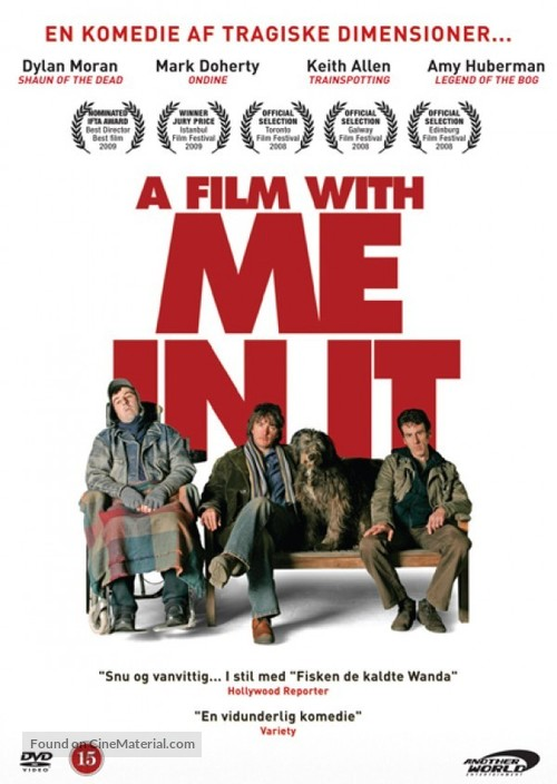 A Film with Me in It - Danish DVD movie cover