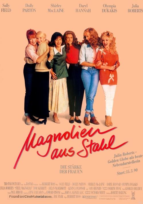 Steel Magnolias - German Movie Poster