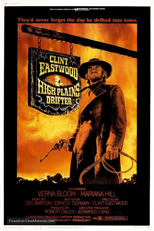 High Plains Drifter - Movie Poster