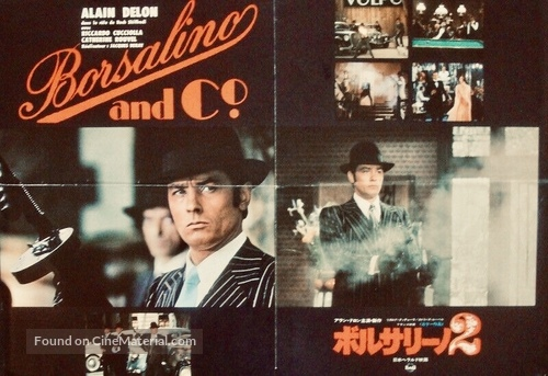 Borsalino and Co. - Japanese Movie Poster