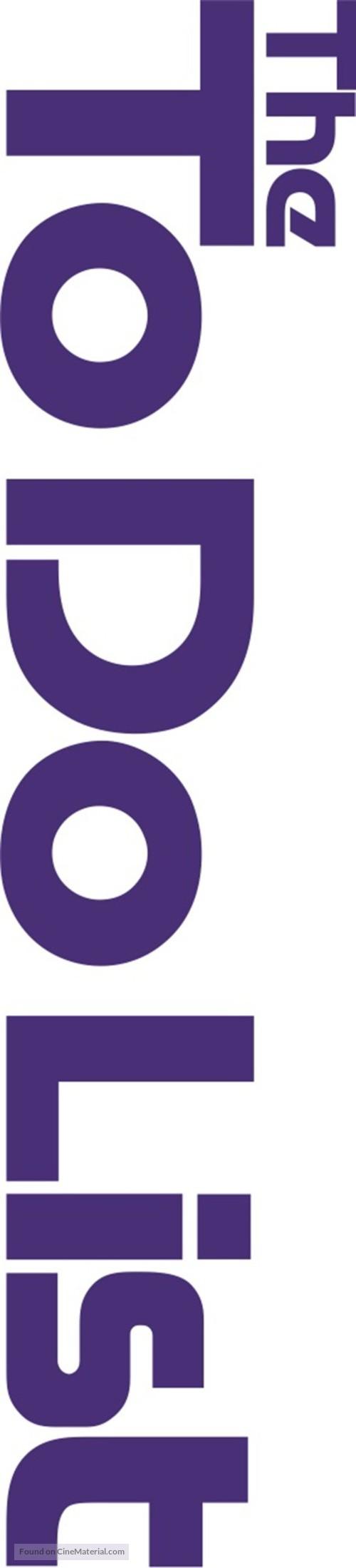 The To Do List - Logo