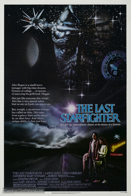 The Last Starfighter - Movie Poster