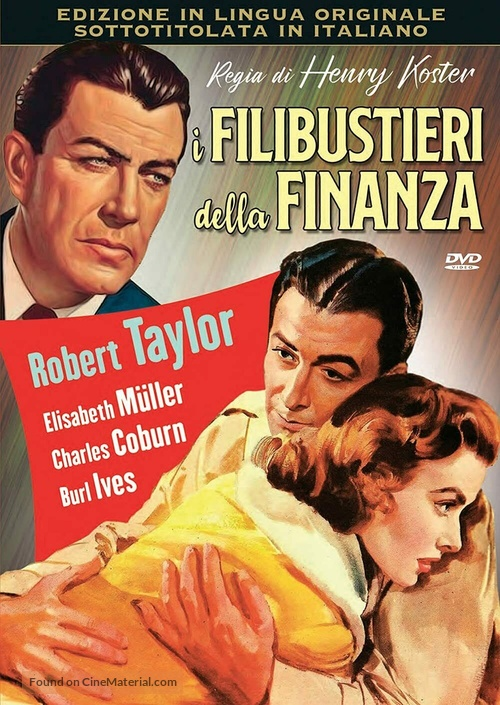 The Power and the Prize - Italian DVD movie cover