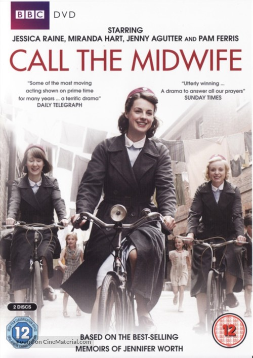 """""""Call the Midwife"""" - British DVD movie cover"""