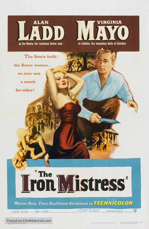 The Iron Mistress - Movie Poster