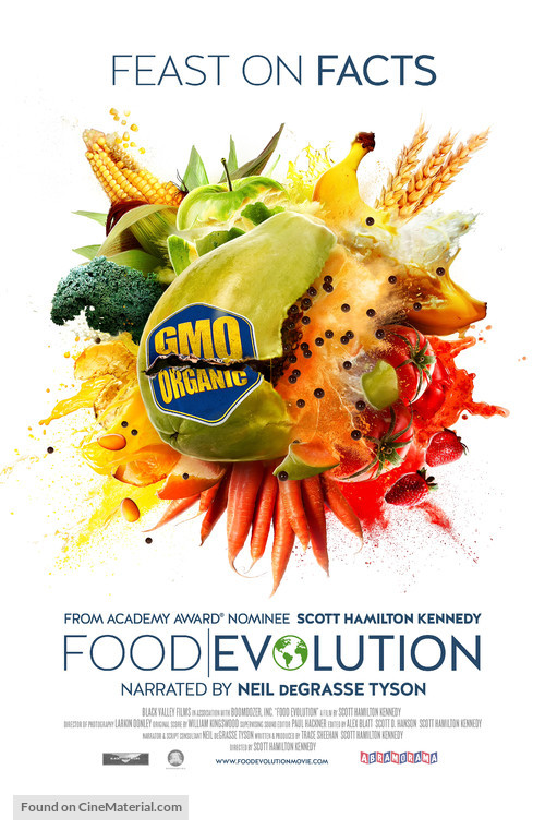 Food Evolution - Movie Poster