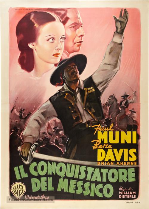 Juarez - Italian Movie Poster