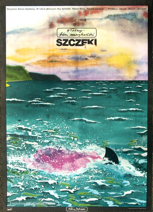 Jaws - Polish Movie Poster