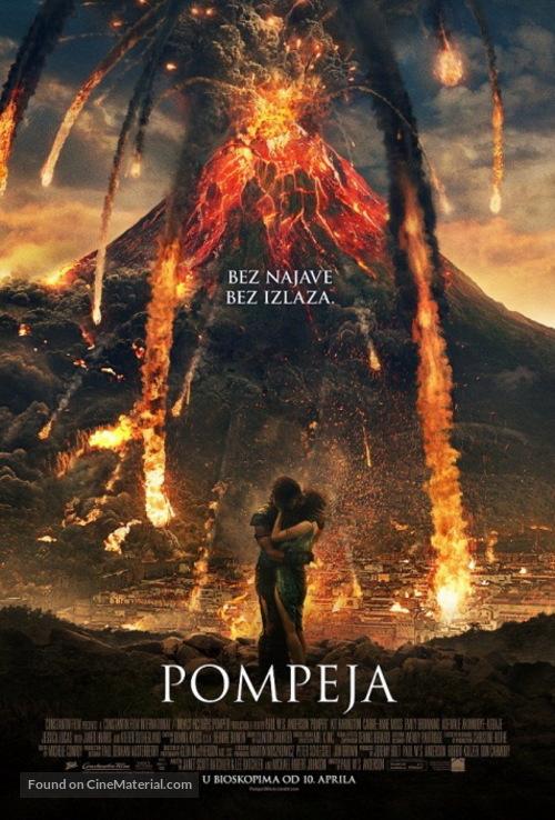 Pompeii - Serbian Movie Poster