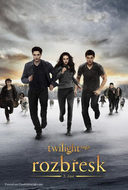 The Twilight Saga: Breaking Dawn - Part 2 - Czech Movie Poster