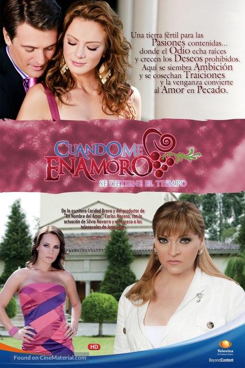 """""""Cuando me enamoro"""" - Mexican Movie Poster"""