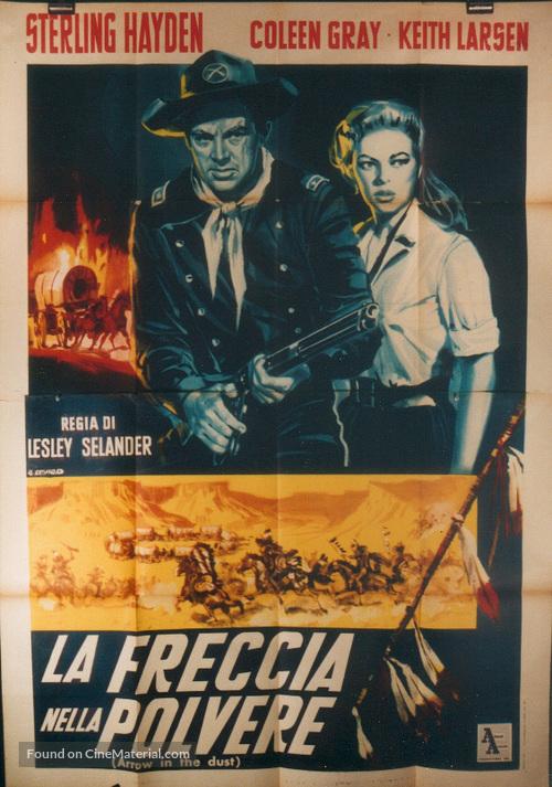 Arrow in the Dust - Italian Movie Poster