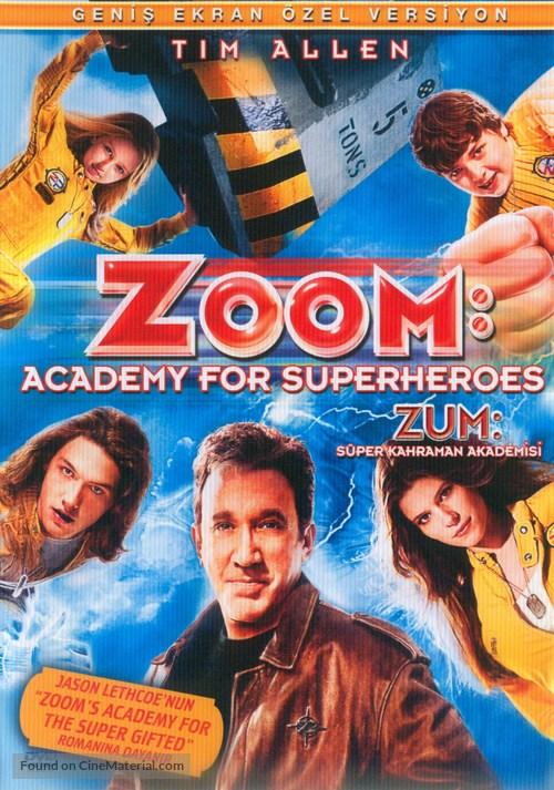 Zoom - Turkish DVD movie cover