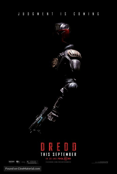 Dredd - Teaser movie poster