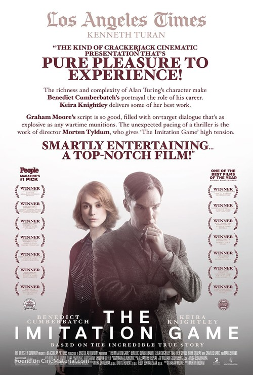 The Imitation Game - Movie Poster