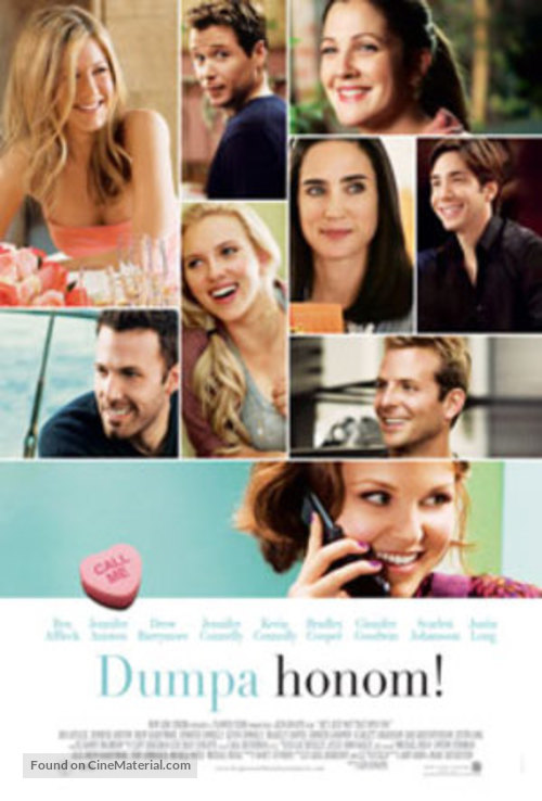 He's Just Not That Into You - Swedish Movie Poster