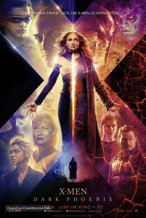 Dark Phoenix - Swiss Movie Poster