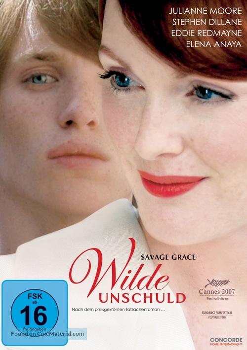 Savage Grace - German Movie Cover