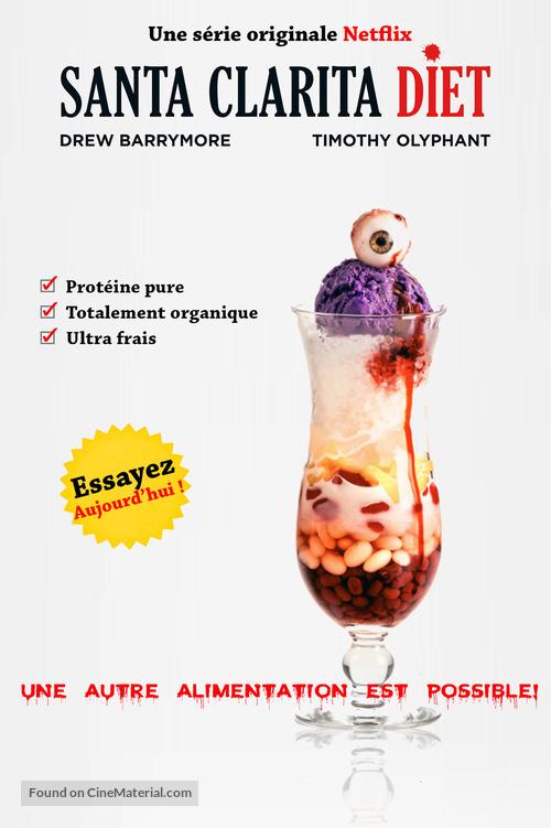 """Santa Clarita Diet"" - French Movie Poster"