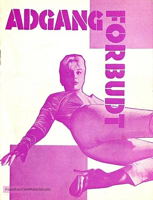 Private Property - Danish Movie Poster