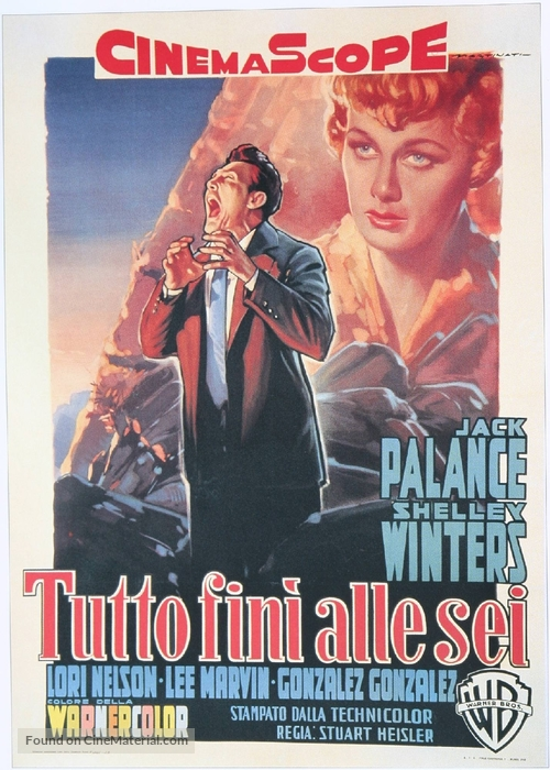 I Died a Thousand Times - Italian Theatrical movie poster