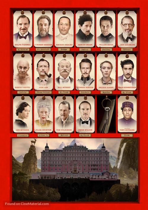 The Grand Budapest Hotel - Key art