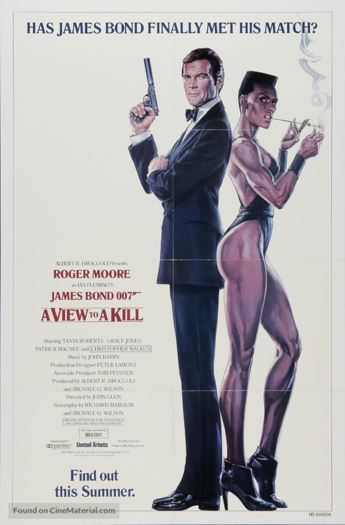 A View To A Kill - Movie Poster