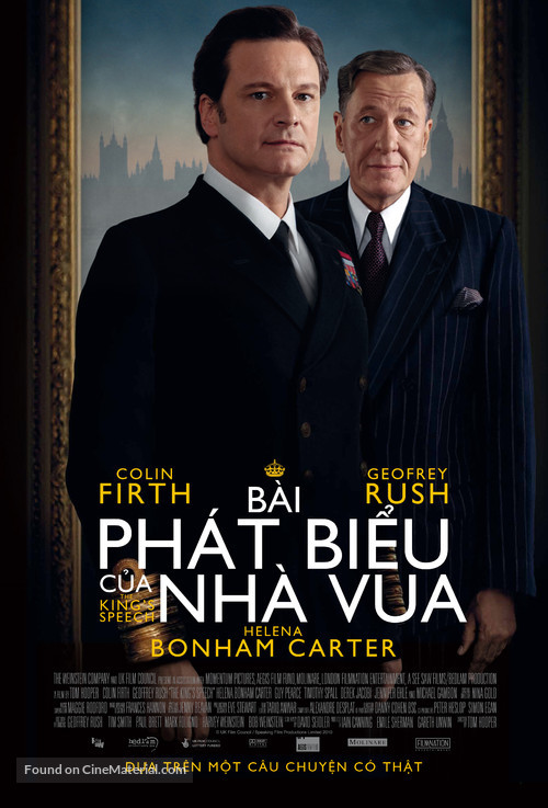 The King's Speech - Vietnamese Movie Poster