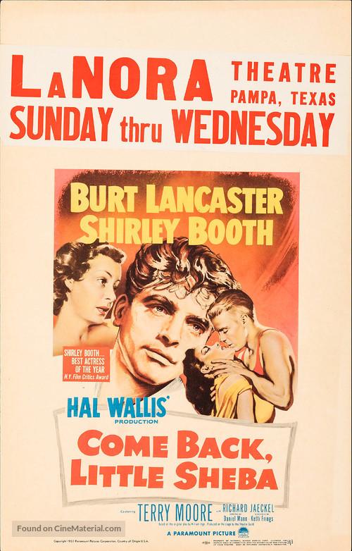 Come Back, Little Sheba - Movie Poster