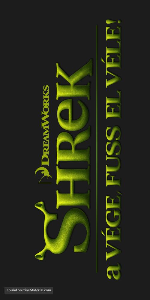 Shrek Forever After - Hungarian Logo