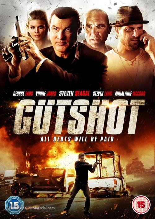 Gutshot Straight - British DVD movie cover